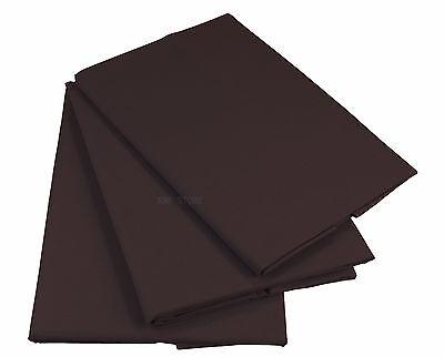 Braun Bettlaken Betttuch Haustuch 100% Baumwolle ohne Gummizug  Nur 1 xPorto!