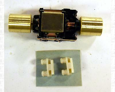 Athearn HO Parts: Motor With Brass Flywheels 3/4 X 5/8
