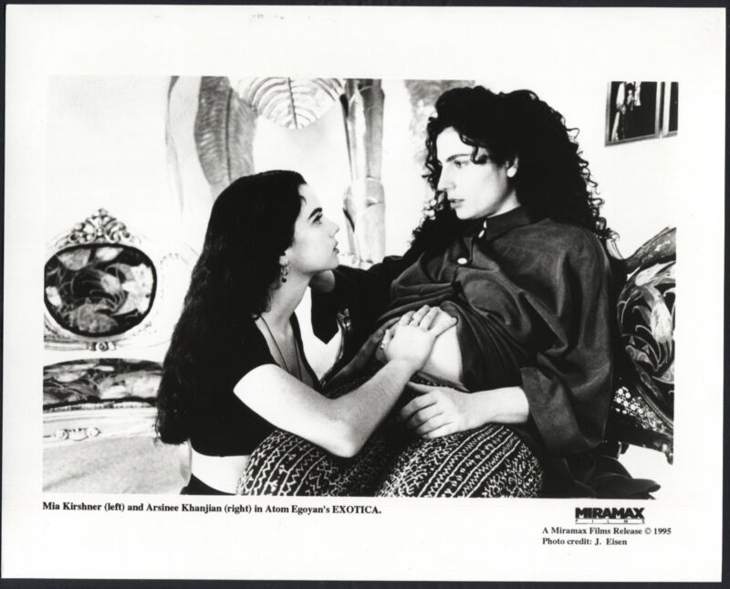 Exotica '94 MIA KIRSHNER ARSINEE KHANJIAN PREGNANT