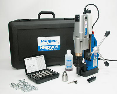 New Hougen Hou-0905108 Hmd905 Mag Drill - Fabricators Kit Metric - 115v
