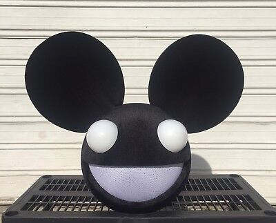 Mouse Head Inspired Deadmau5 Mask Costume Cosplay Rave Dj](Mouse Costum)