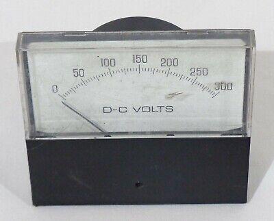 Vintage General Electric Ge E.i.l. Instruments Dc Volt Volts Panel Meter