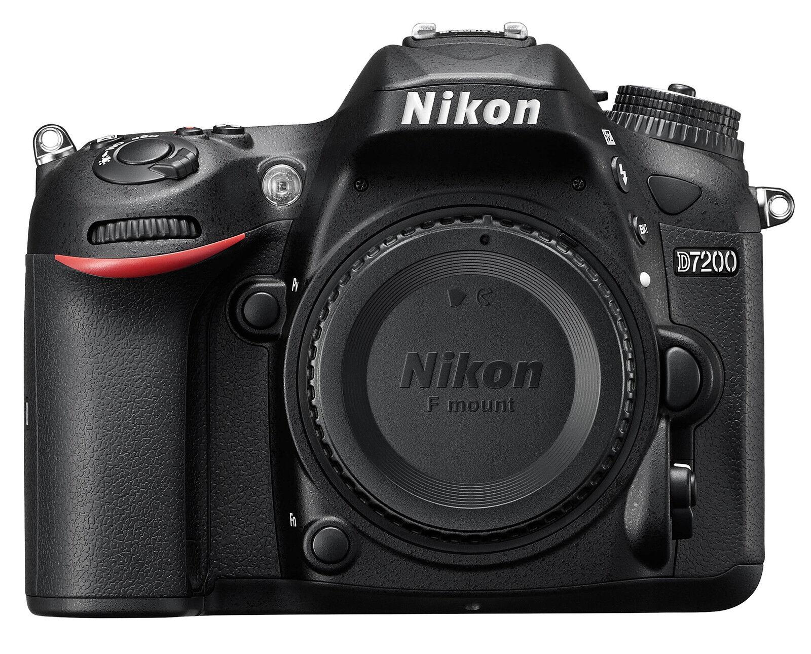 Nikon D7200  DSLR Body-  Top-Zustand gekauft erst 11/2017, 999 Auslösungen