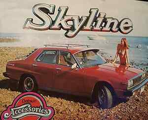 Wanted Datsun Skyline C210 78-81 Brisbane City Brisbane North West Preview