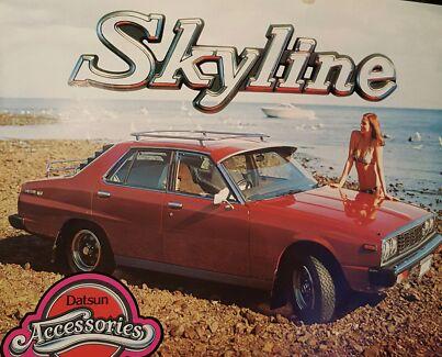 Wanted: Wanted Datsun Skyline 240k 74 -77 C210 78-81