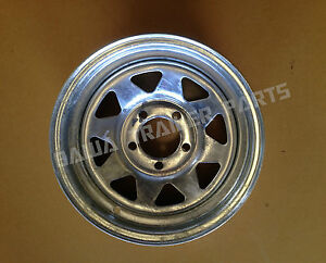 GALVANISED-Sunraysia-14-Ford-Rim-14X6-Trailer-Parts