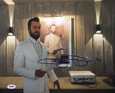 Justin Theroux Signed The Leftovers 11X14 Photo Psa Ad41054