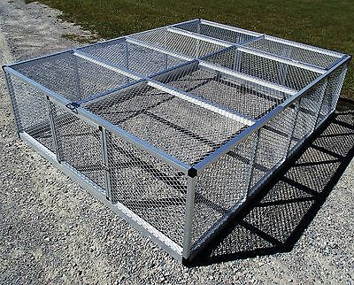Large Rite Farm Products Lifetime Series Freestanding Chicken Run Coop Poultry
