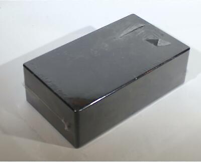 Hammond Black Plastic Project Enclosure Box 7.5 X 2.2 X 4.4 Inch