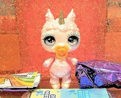 Poopsie Rainbow Surprise Sparkly Critters FLUFF Llama Lamb Figure Out Of Can