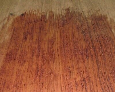 African Bubinga Wood Veneer 5 X 11 With No Backing Raw 142 Thick A Grade