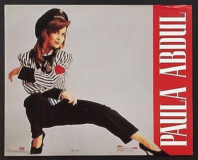 ~ Music ~ 054 Paula Abdul ~ Vintage Poster / Print 16 x 20