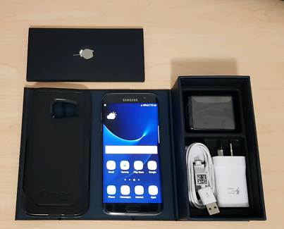 Samsung Galaxy S7 Edge 32gb Black Unlocked Plus Samsung Gear VR Mango Hill Pine Rivers Area Preview