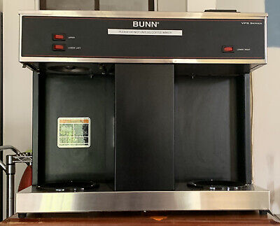 Bunn Vps 12-cup Pourover Commercial Coffee Brewer Maker W 3 Warmers 04275.0031