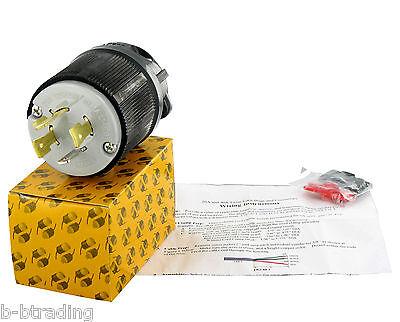 Nema L14-20 20 Amp 125250v 3 Pole 4 Wire Ground Plug