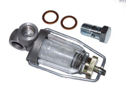 Vorfilter Dieselfilter Kraftstofffilter für Oldtimer Traktor Schlepper u. Lkw Foto 1