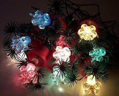 Lighting Modern Berries - MCM modern colored flower pot berries holiday christmas tree lights DM Italy