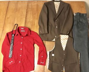 Boys size 8-10 formal wear