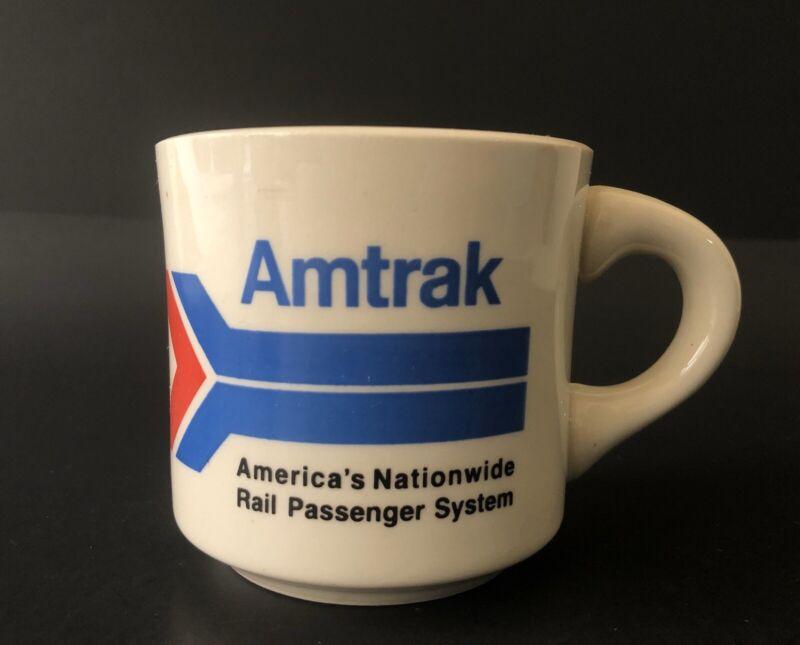 Vintage AMTRAK Train Collectible Mug Cup USA