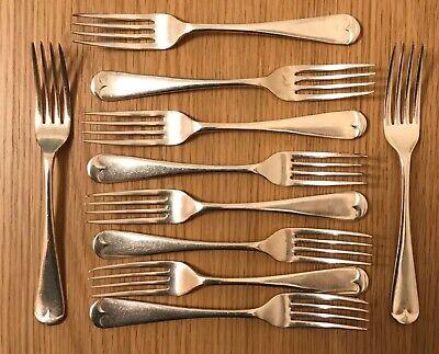 Vintage forks x 10 Ell Ware EPNS A1