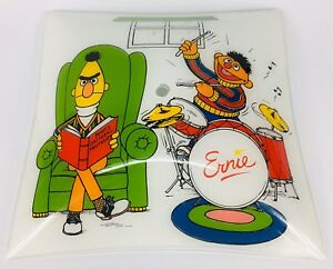 Vintage Muppets light cover shade Bert and Ernie drums