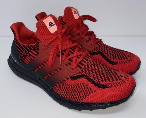 Adidas Ultraboost 5.0 DNA Scarlet Black Shoes Men's Size 1