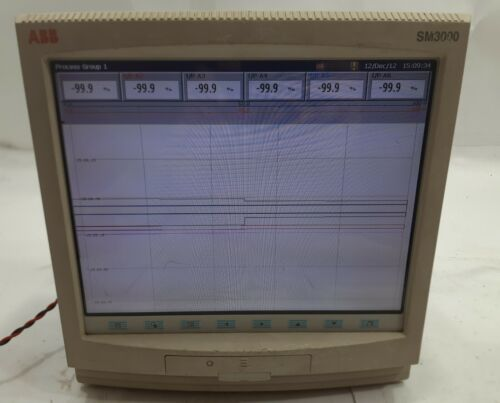 ABB ScreenMaster SM3000 Videographic Recorder Multipoint Paperless Upto 36 Chann