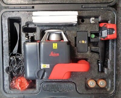 Leica Roteo 35 Wmr Rotary Red Laser Level Package W Hard Case