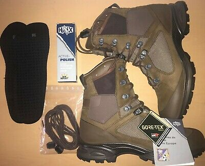 Haix Nepal Pro Gore-Tex Waterproof Combat Hiking Military Boots Brown |UK 9 & 10