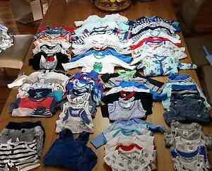 newborn baby boy clothes lot over 70 items 0000 000 Australind Harvey Area Preview