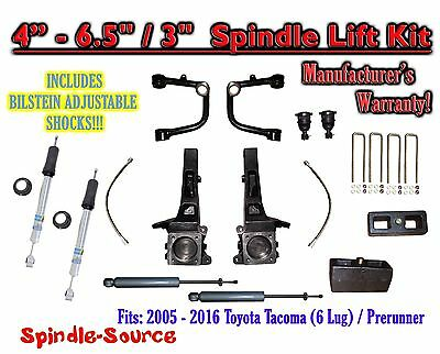 "05 - 16 Toyota Tacoma Prerunner 6.5"" / 3"" LIFT Kit, Bilstein 5100 Shocks, rs UCA"