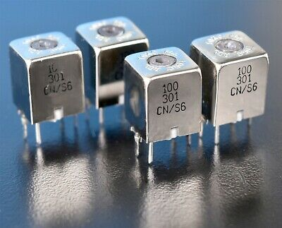 4 Four Toko Variable Inductor Coils 0.36uh Q40 100khz Dcr0.08 Pn Cns6