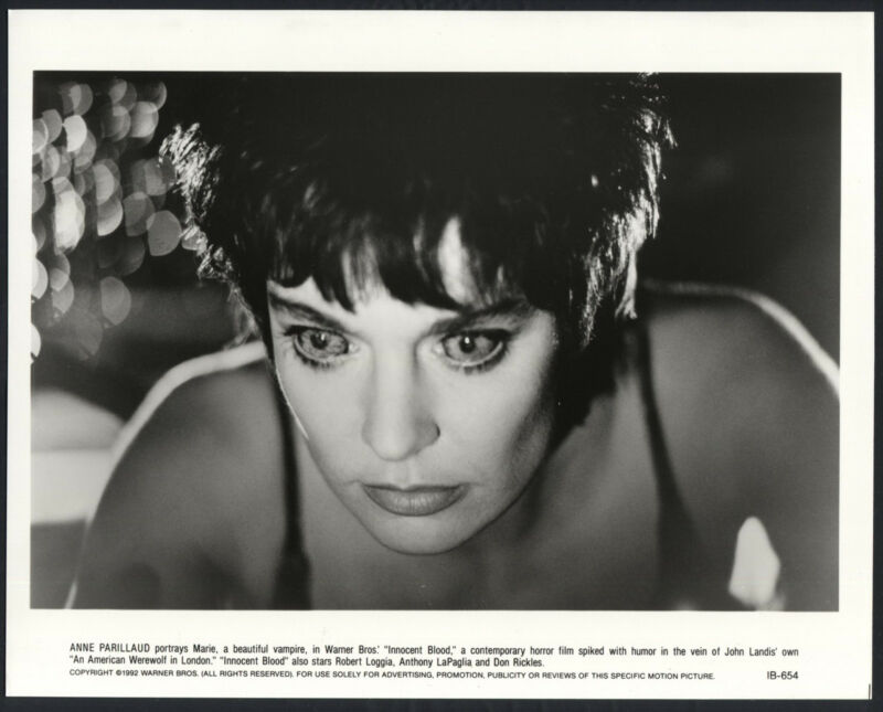 Innocent Blood '92 ANNE PARILLAUD AS A VAMPIRE RARE
