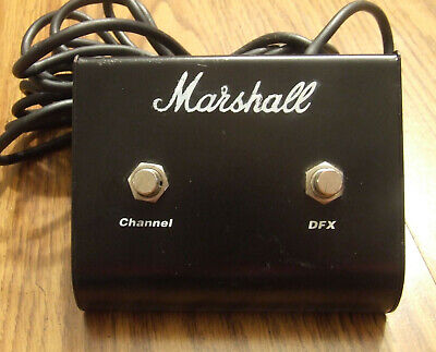 Marshall Pedal 2 Button Amp Foot Switch Channel / DFX