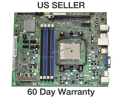 Acer Aspire X3470 AMD Desktop Motherboard DAA75L-aParker 11005-1 48.3FU01.011