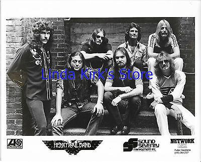 Henry Paul Band Promotional Photograph Sound Seventy Management Nashville  Tn