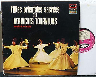 TURKEY  Flutes Orientales Sacrees des Derviches Tourneurs LP  HAYRI TÜMER