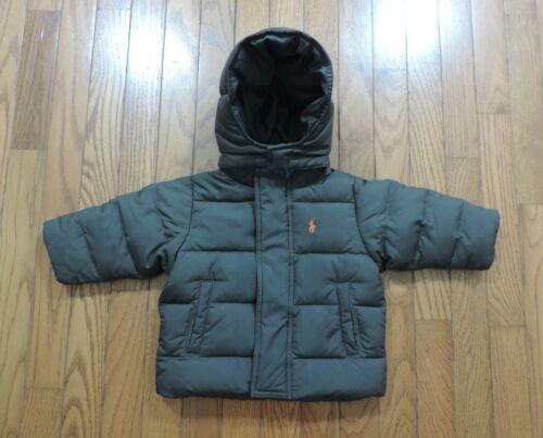 Polo Ralph Lauren Down Puffer Jacket Removable Hood Boy