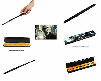 Orginalgetreues (Replikat) Zauberstab Draco Malfoy (Harry Potter)+Box 34cm