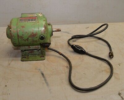 Dumore No 5 The Master 12 Hp Tool Post Grinder Motor Base Machinist Lathe