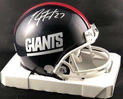 0332db91276 Rodney Hampton autographed signed mini Helmet New York Giants PSA COA Super  Bowl