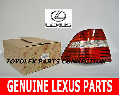 Right Passenger Side Tail Light Assembly For 04-06 Lexus LS430 GC37X2