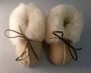 Baby Sheepskin  Boots from Bindoon Cottage Craft Fremantle Safety Bay Rockingham Area Preview
