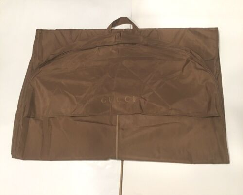 """GUCCI Golden Brown Garment Bag 53""""x 28"""""""
