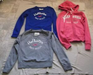 Ladies Aeropostale Hoodie + Hollister Sweat Shirts Size XSmall