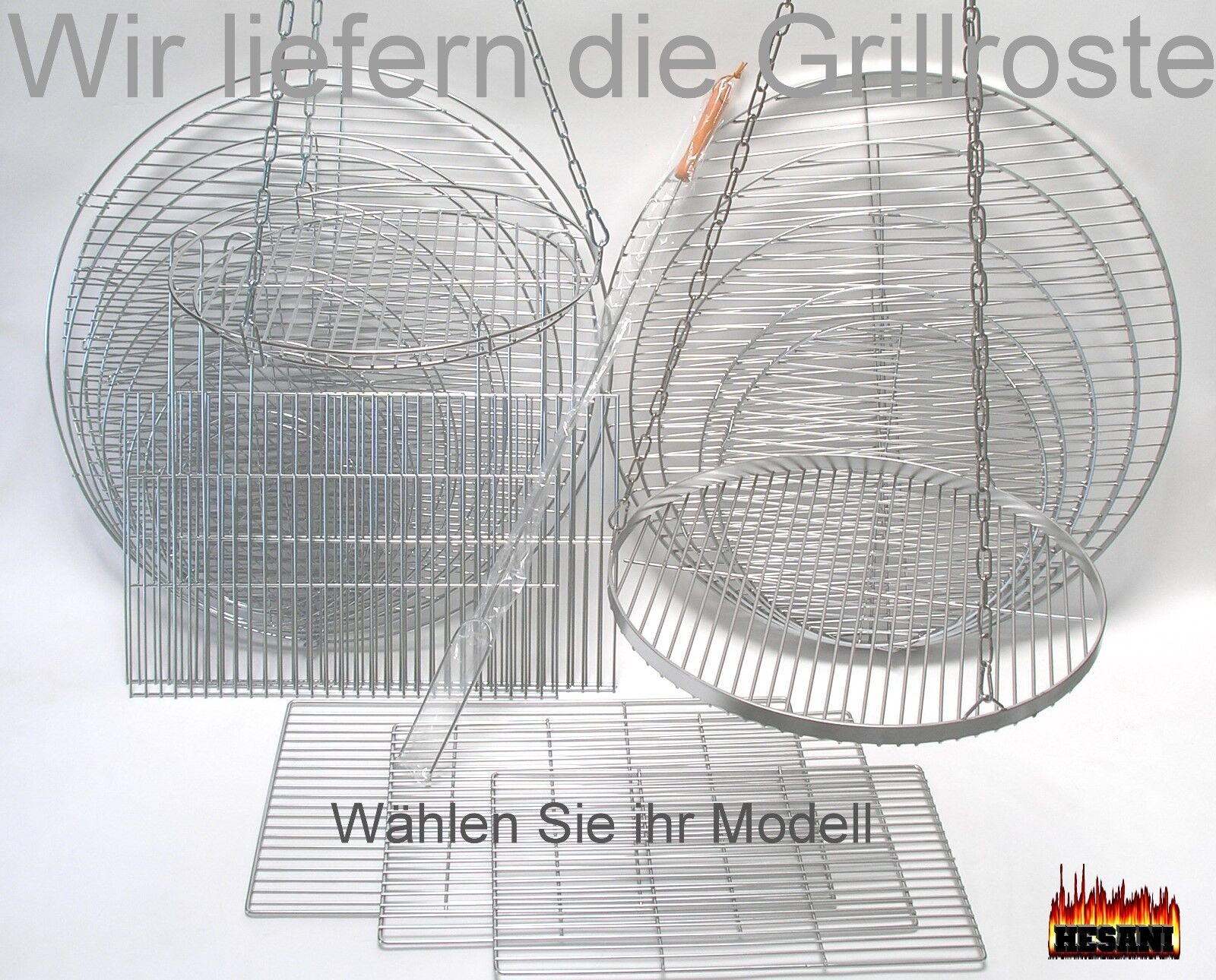 Grillrost chrome Edelstahl Grill Kugelgrill rechteckig Gitter auch für Weber 47