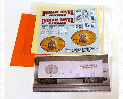 LBR S Decals Indian River Citrus Billboard Reefer 20093