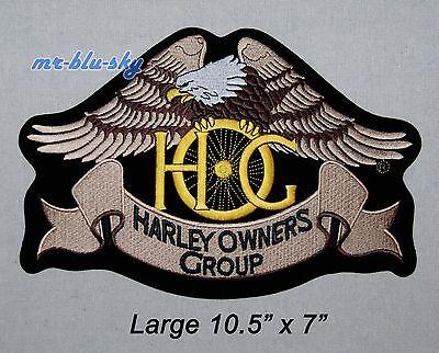 Large Heritage Eagle Patch ~ Harley Davidson Owners Group HOG H.O.G.