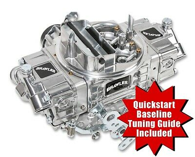 QuickFuel BR-67255 4 Barrel 650 CFM Brawler Double-Pumper Carburetor E-Choke bbl