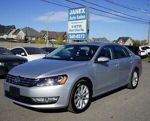 2012 Volkswagen Passat 2.5L Highline ACCIDENT FREE | ONE OWNE...